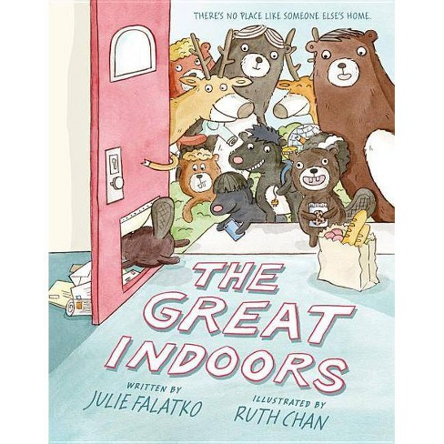 The Great Indoors - by  Julie Falatko (Hardcover) - image 1 of 1