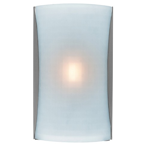 Radon Rectangular Wall Sconce Brushed Steel Finish - image 1 of 2