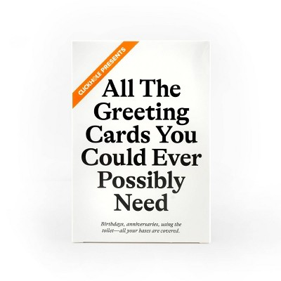 ClickHole Greeting Cards Pack Card Game