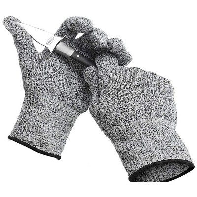 All Purpose Cut Resistant Gloves For Working At Home or Garage Heavy Duty, Slip Resistant, Easy to Wash, Machine Washable, Soft & Comfortable, Medium