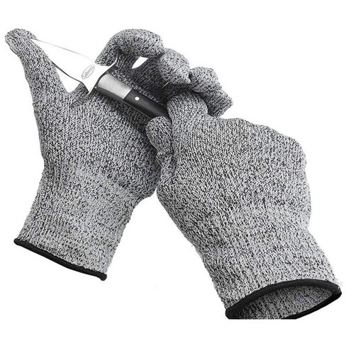 All Purpose Cut Resistant Gloves For Working At Home or Garage Heavy Duty, Slip Resistant, Easy to Wash, Machine Washable, Soft & Comfortable, Medium - image 1 of 1