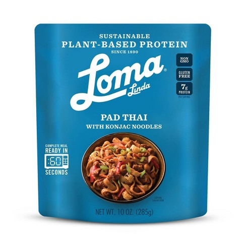 Loma Linda Plant-Based Protein Pad Thai - 10oz - image 1 of 1
