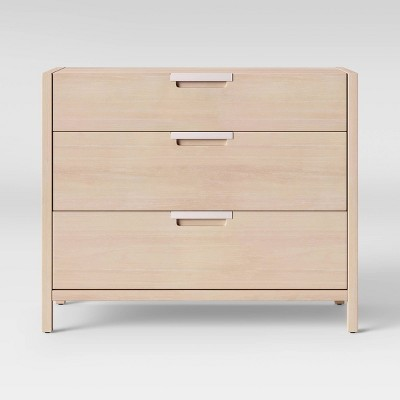 Merveilleux Porto 3 Drawer Dresser Bleached Wood   Project 62™ : Target