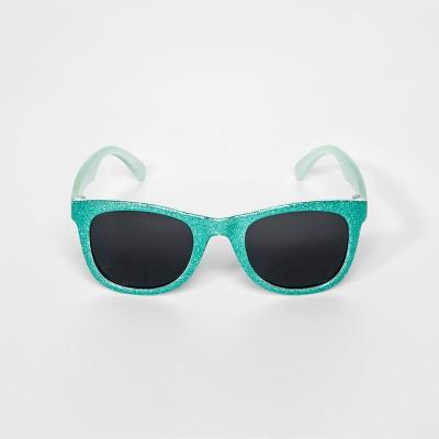 Girls' Glitter Wayfarer - Cat & Jack™ Mint