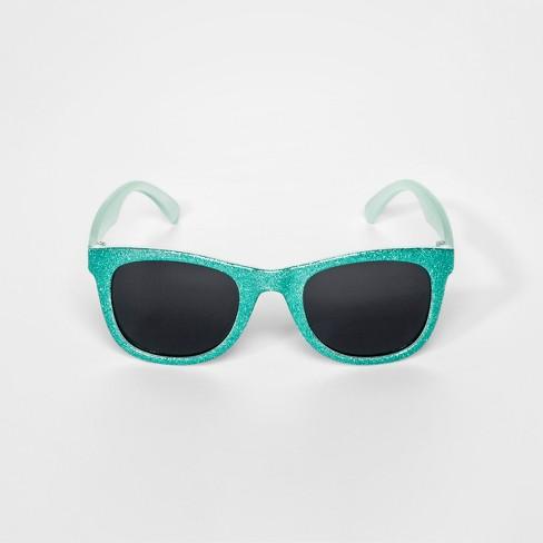 f8f2ec244ce Girls  Glitter Wayfarer - Cat   Jack™ Mint   Target