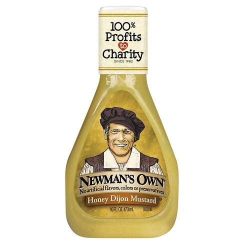 Newman's Own® Honey Dijon Mustard Dressing - 16 fl oz - image 1 of 1