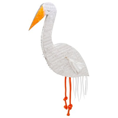 Meri Meri - Stork Party Pinata - Party Decorations and Accessories - 1ct