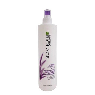 Shampoo & Conditioner: Biolage Matrix Hydrasource Daily Leave-In Tonic
