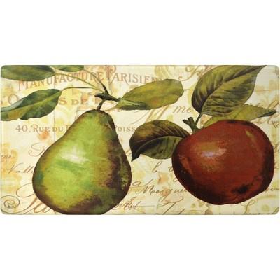 """Home Dynamix 19"""" x 35"""" Pear Kitchen Mat"""