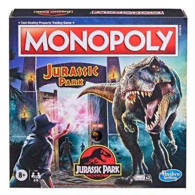 Monopoly Jurassic Park Game