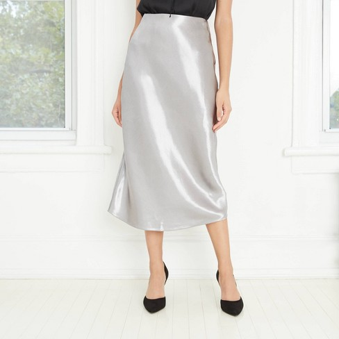 Women's Slip A-Line Maxi Skirt - A New Day™ - image 1 of 4