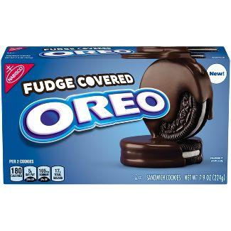 Oreo Fudge Covered Cookies - 7.9oz