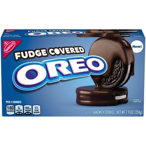 Oreo Fudge Covered Sandwich Cookies - 7.9oz - image 1 of 3