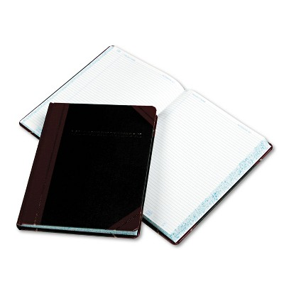 Boorum & Pease Laboratory Notebook Record Rule 10 3/8 x 8 1/8 White 300 Sheets L21300R