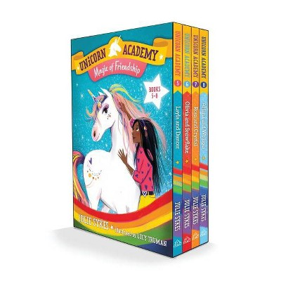 Unicorn Academy: Magic of Friendship Boxed Set (Books 5-8) - by  Julie Sykes (Mixed Media Product)
