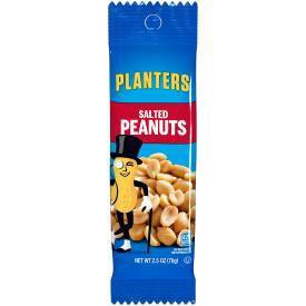 Planters Salted Snack Nuts Tube - 2.5oz