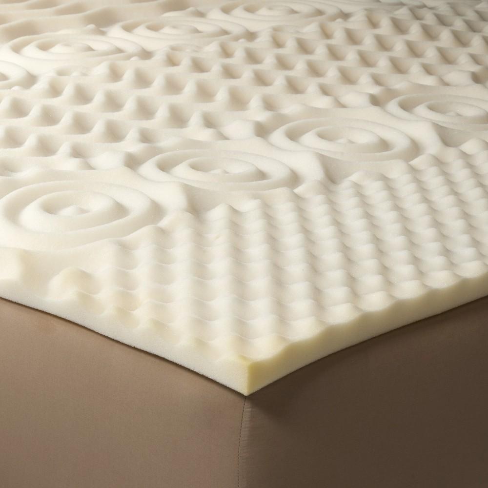 Image of Comfy Foam Mattress Topper - Twin - Room Essentials