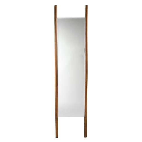 Holly Martin 70 X17 Swain Leaning Floor Mirror Dark Tobacco