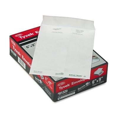 Survivor Tyvek Mailer #55 6 x 9 White 100/Box R1320