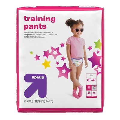 Diapers: up & up Training Pants for Girls