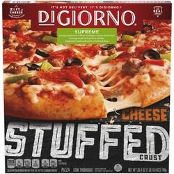 DiGiorno Cheese Stuffed Crust Supreme Frozen Pizza - 26.4oz