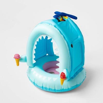 Lil' Canopy Shark Float Light Blue - Sun Squad™
