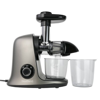 West Bend Cold Press Juice Extractor - Gray