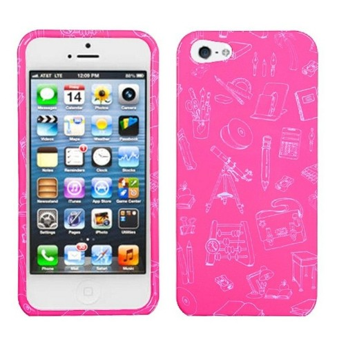 MyBat Love Tree Hard Snap-in Case Cover Compatible With Apple iPhone 5/5S/SE, Pink - image 1 of 1