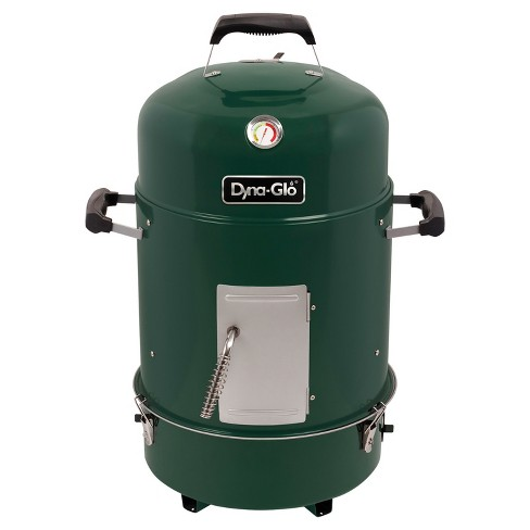 Dyna Glo Compact Charcoal Smoker and Grill - DGX376VCS - Green - image 1 of 8