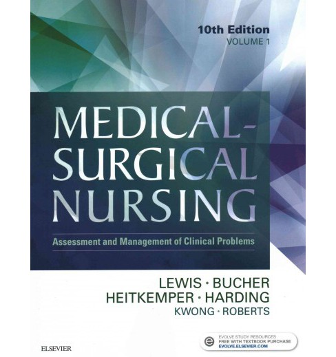 Medical-surgical Nursing : Assessment and Management of Clinical Problems (Paperback) (Sharon L. Lewis) - image 1 of 1
