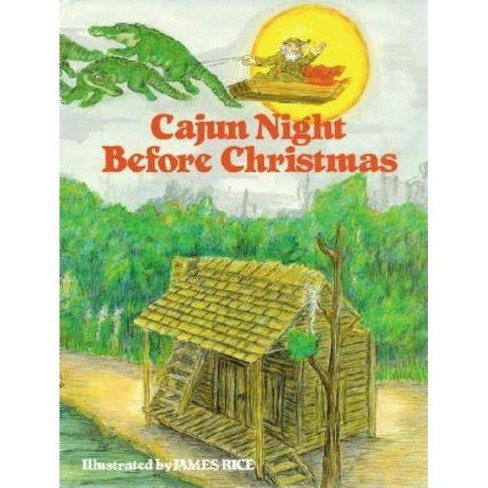 """Cajun Night Before Christmas(r) - by  """"Trosclair"""" (Hardcover) - image 1 of 1"""
