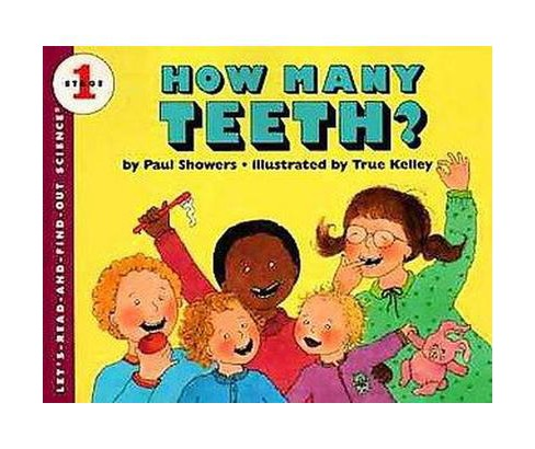 How Many Teeth? (Revised) (Paperback) (Paul Showers) - image 1 of 1