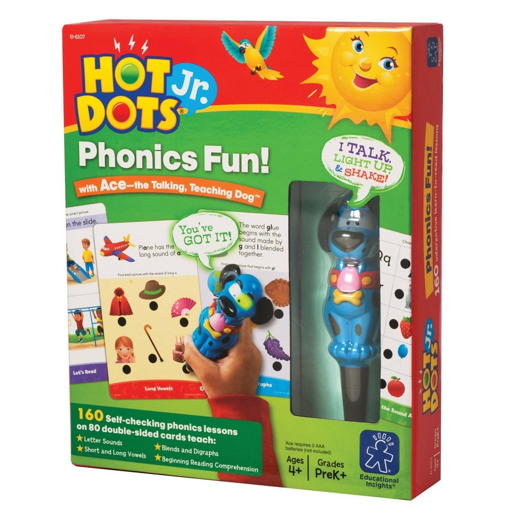 Educational Insights Hot Dots Jr Phonics Fun