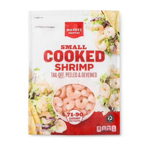 Cooked Tail-off Shrimp -71-90ct - Market Pantry™ - image 1 of 2