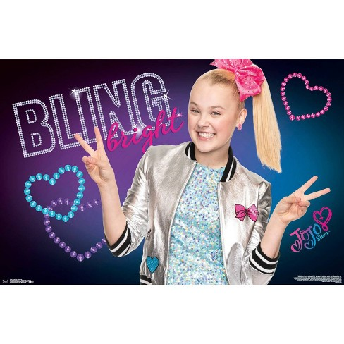 "34""x23"" JoJo Siwa Close-Up Unframed Wall Poster Print - Trends International - image 1 of 2"