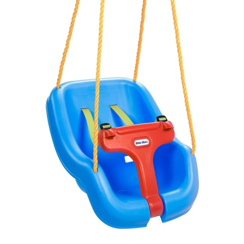 Outdoor Baby Swing >> Little Tikes 2 In 1 Snug And Secure Swing Blue