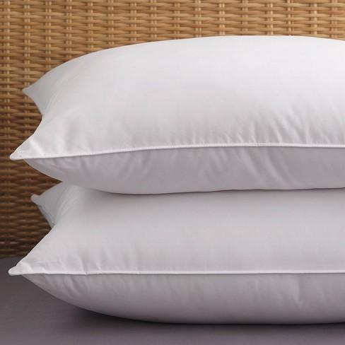 2pk Allergen Barrier Bed Pillow - PureShield - image 1 of 3