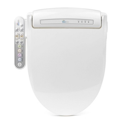 Prestige Elongated Toilet Seat White - Bio Bidet