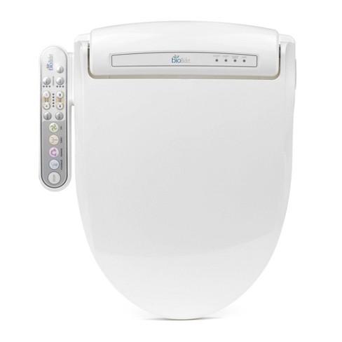 Prestige Elongated Toilet Seat White Bio Bidet Target