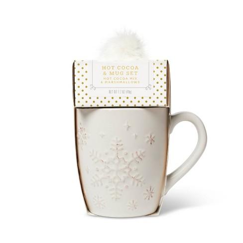 Holiday Hot Cocoa & Mug Set - 1.7oz - Wondershop™ - image 1 of 4