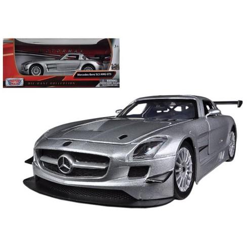 Mercedes SLS AMG GT3 Silver 1/24 Diecast Car Model by Motormax - image 1 of 1