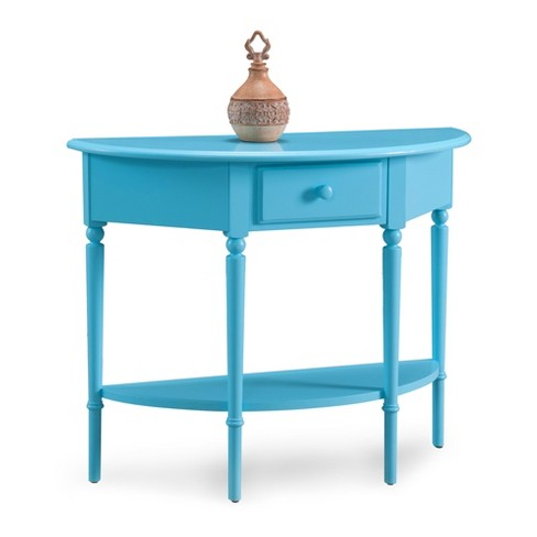 Console Table Blue - image 1 of 1