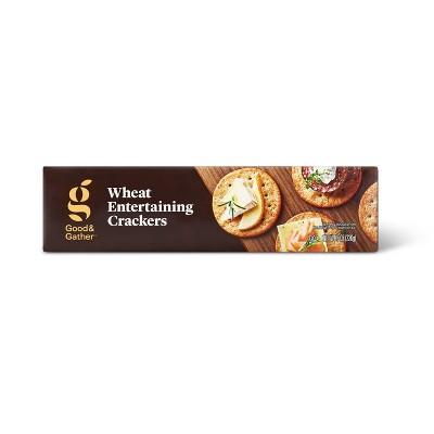 Wheat Entertaining Cracker - 8oz - Good & Gather™