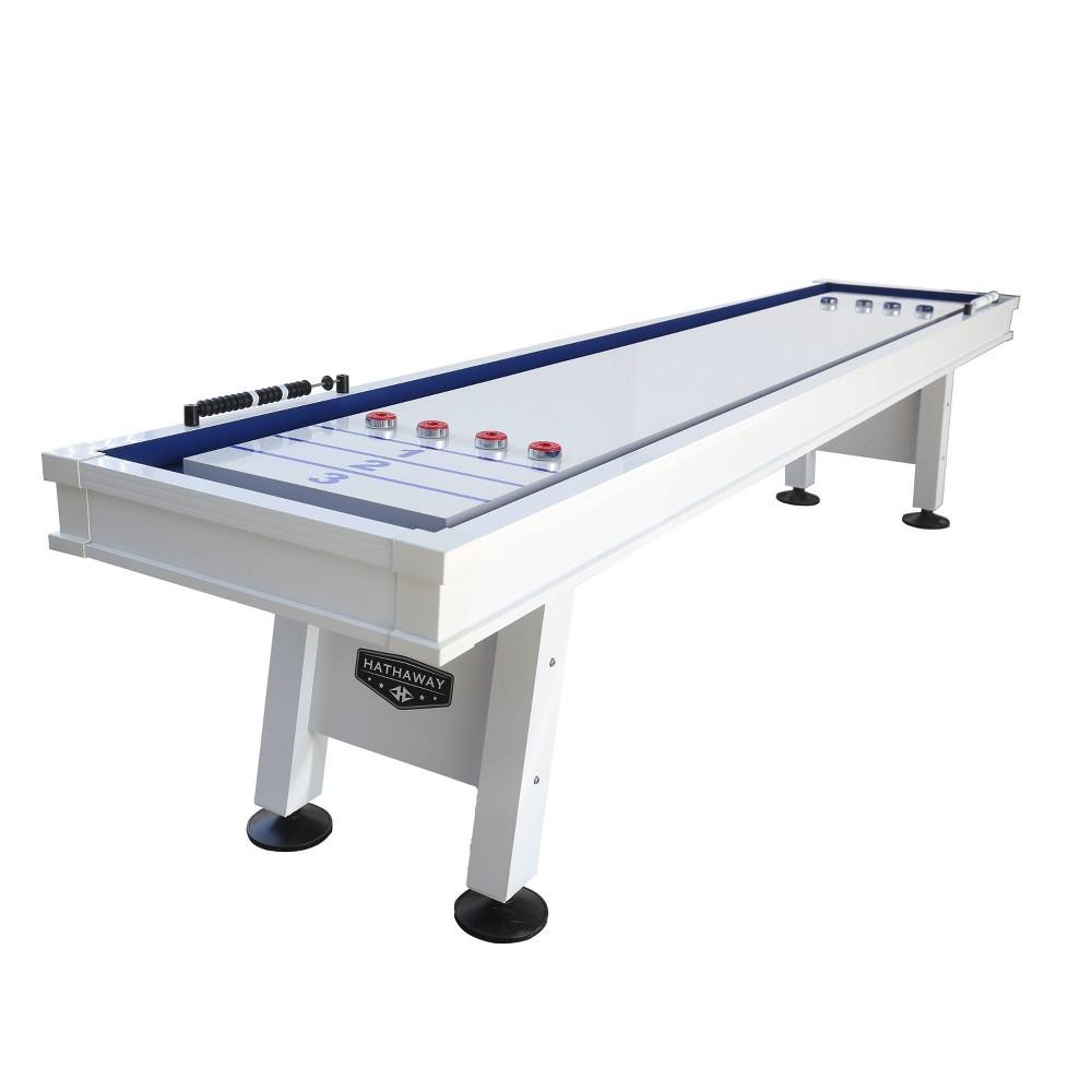 Hathaway Crestline 12 39 Outdoor Shuffleboard Table