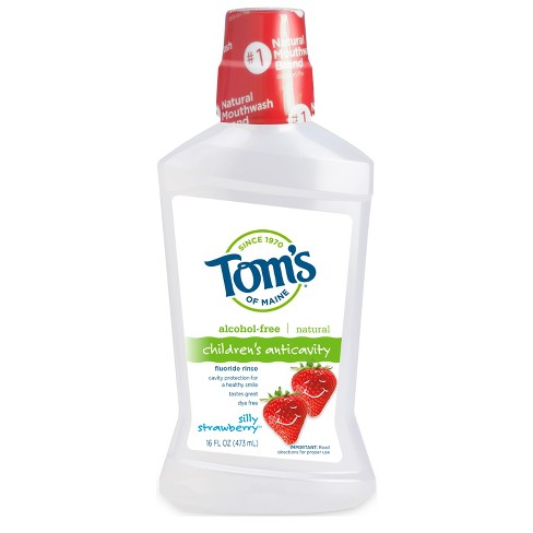 Tom's of Maine Alcohol-Free Mouth Wash - 16 fl oz - image 1 of 4