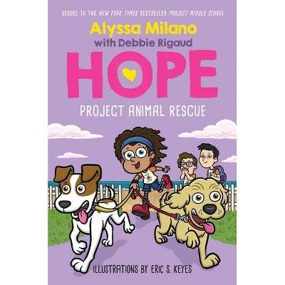 Project Animal Rescue (Alyssa Milano's Hope #2) - by  Alyssa Milano & Debbie Rigaud (Hardcover)