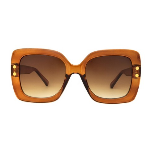 Women's Sunglasses - A New Day™ Caramel - image 1 of 2