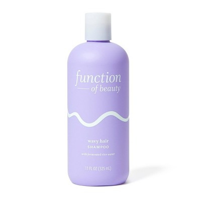 Function of Beauty Wavy Hair Shampoo Base with Fermented Rice Water - 11 fl oz
