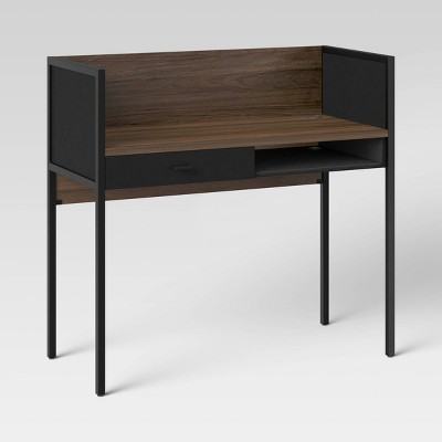 Deepwell Walled Desk with Drawer - Project 62™