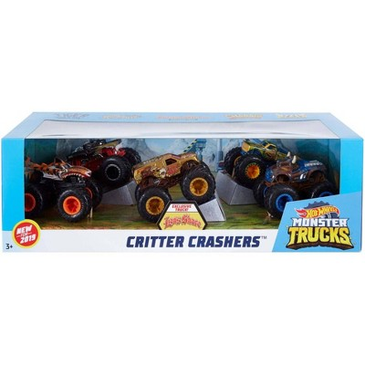 Hot Wheels Monster Trucks 1:64 Critter Crashers 5pk - Styles May Vary